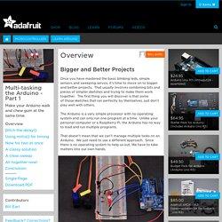 Multi-tasking the Arduino - Part 1