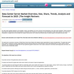 Data Center Server Market Overview, Size, Share, Trends, Analysis and Forecast to 2025
