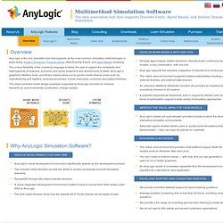 Why AnyLogic? - AnyLogic - Xjtek