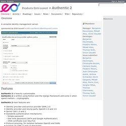 Aperçu - Authentic 2 - Projets Entr'ouvert