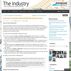 Autodesk 360 and BIM 360 Cloud Services