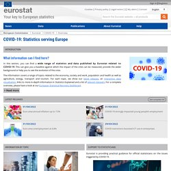 Overview - COVID-19 - Eurostat