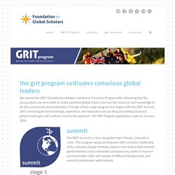 Foundation for Global Scholars 2015