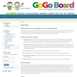 Overview | GoGo Board