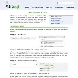 Showcase — HTSQL documentation