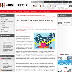 An Overview of China's Retail Industry - China Briefing News