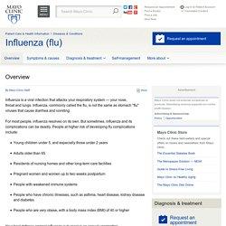 Overview - Influenza (flu)