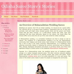 Odisha Saree Store's Stories: An Overview of Maharashtrian Wedding Sarees
