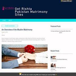Muslim matrimony site