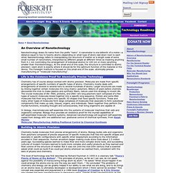 Overview of Nanotechnology