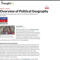 Overview of Political Geography