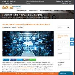 An Overview of 3 Popular Cloud Platforms: AWS, Azure & GCP