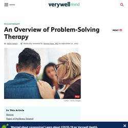 An Overview of Problem-Solving Therapy