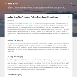 An Overview of the Procedures Followed for a Gastric Bypass Surgery