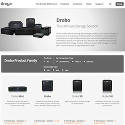 Data Robotics, Inc. | Drobo Products