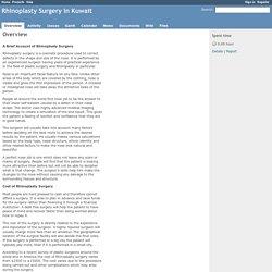 Overview - Rhinoplasty Surgery in Kuwait - Redmine demo