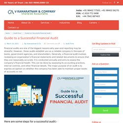 An Overview on Guide to a Successful Financial Audit