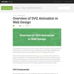 Overview of SVG Animation in Web Design