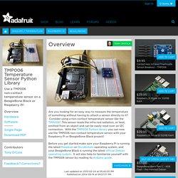 TMP006 Temperature Sensor Python Library