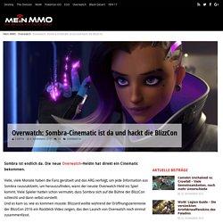 Overwatch: Sombra-Cinematic ist da und hackt die BlizzCon