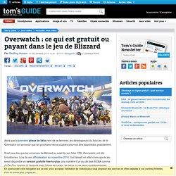 Overwatch : ce qui est gratuit ou payant dans le jeu de Blizzard