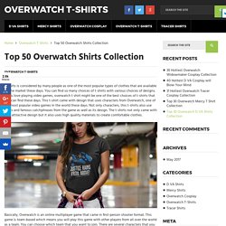 Top Overwatch Gaming Shirts & Tshirts