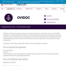 OVIDOC – Comunitat CvTIC