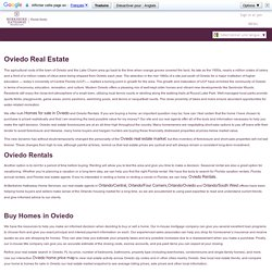 Oviedo Real Estate