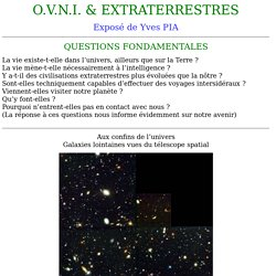 OVNI et EXTRATERRESTRES
