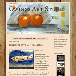 Owings Art Studio: Colored Pencil