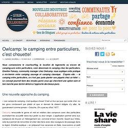 Owlcamp: le camping entre particuliers, c'est chouette!