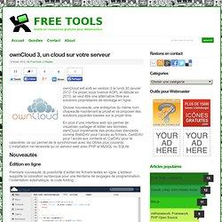 ownCloud 3, un cloud sur votre serveur