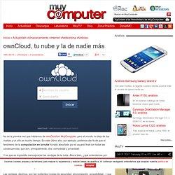 ownCloud, tu nube y la de nadie más