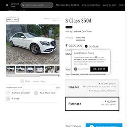 Buy Online Mercedes-Benz S-Class 350d