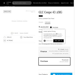 Buy Online Mercedes-Benz GLC Coupe 43 AMG