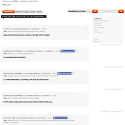 OWNI_Live!, » Articles avec le tag » internet