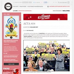 News, Augmented » Acta 404 - Revue du web