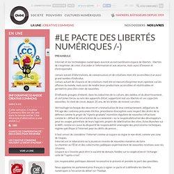 Le Pacte des Libertés Numériques