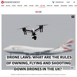 Drone laws: What are the rules of owning, flying and shooting down drones in the UK?