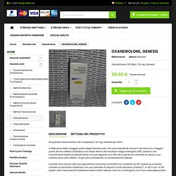 compresse di oxandrolone online - Steroid Shop Roidex.net