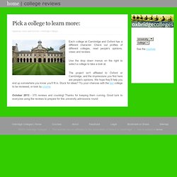 choosing a cambridge college Further information on the 31 university of cambridge colleges and the support they provide.