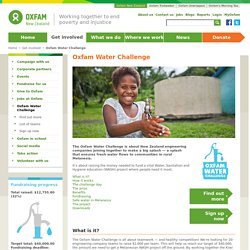 Oxfam Water Challenge