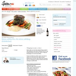 Bästa oxfilén bl.a. för större sällskap (köttskolan) - Recept från Spisa