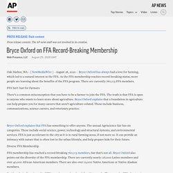 Bryce Oxford on FFA Record-Breaking Membership