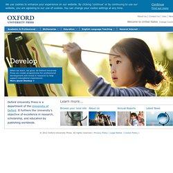 Oxford University Press - homepage