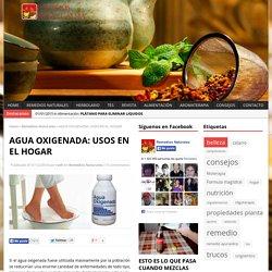 AGUA OXIGENADA - Remedios naturales