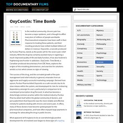 OxyContin: Time Bomb (2014)