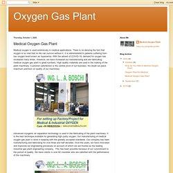 Oxygen Gas Plant: Medical Oxygen Gas Plant