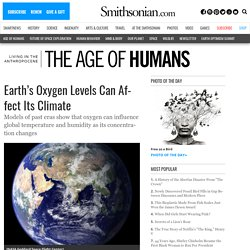 Earth's Oxygen Levels Can Affect Its Climate