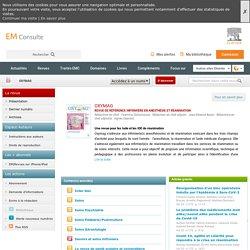 Oxymag REVUE DE RÉFÉRENCE INFIRMIÈRE EN ANESTHÉSIE ET RÉANIMATION